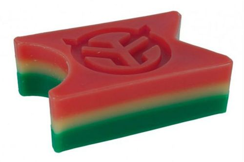 Federal Wax Block With Box - Rasta